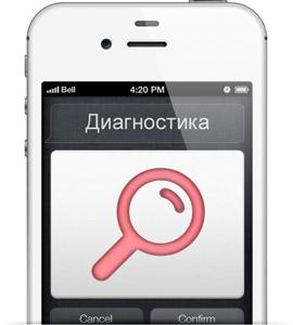 Как сделать диагностику айфона самому